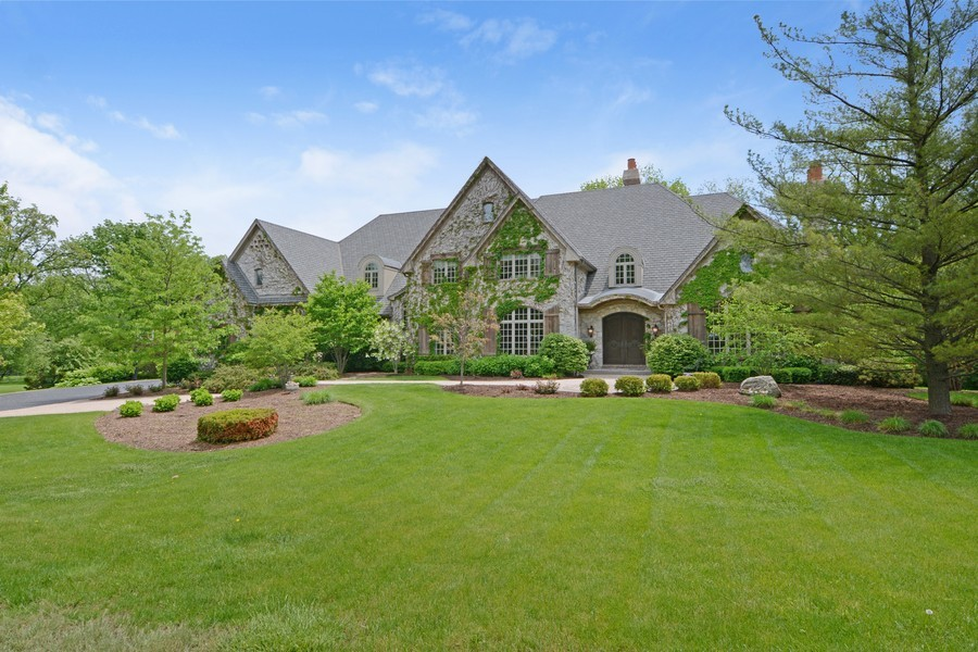 Real Estate Photography - 8S223 Derby Dr, Naperville, IL, 60540 - Front view, Summer