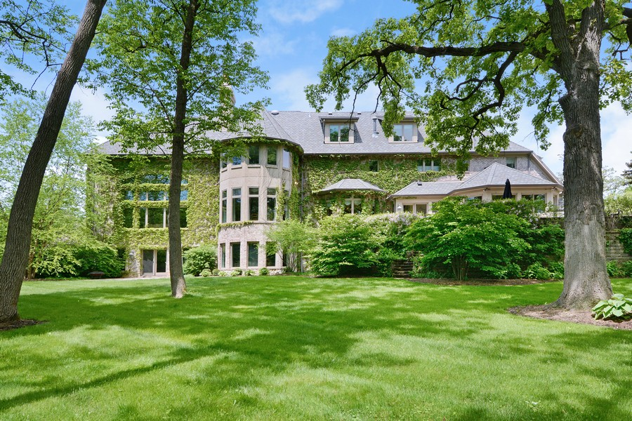 Real Estate Photography - 8S223 Derby Dr, Naperville, IL, 60540 - Rear view, Summer