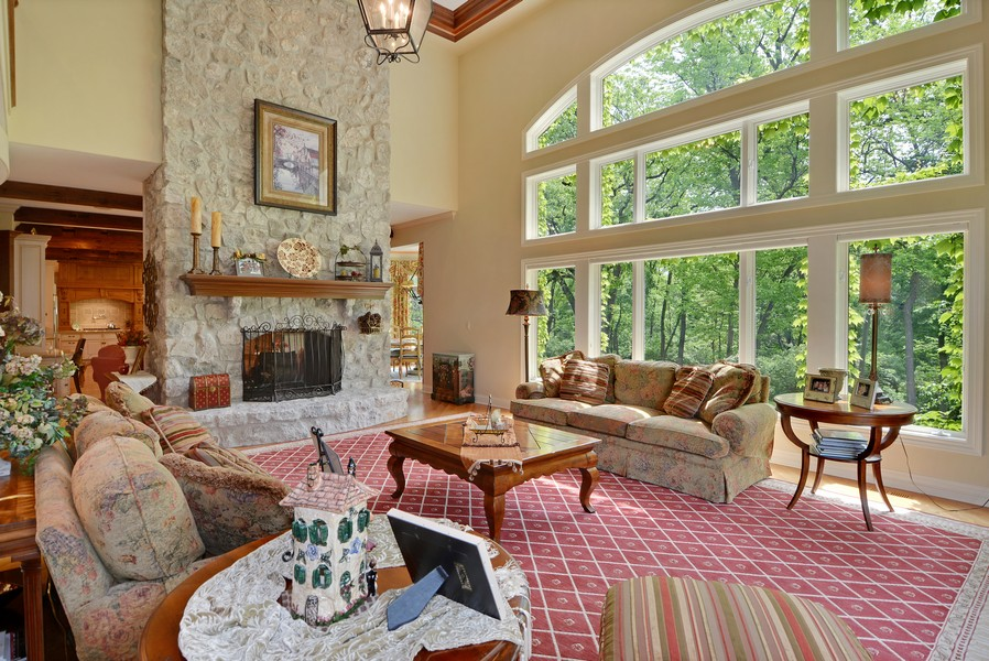 Real Estate Photography - 8S223 Derby Dr, Naperville, IL, 60540 - Family Room