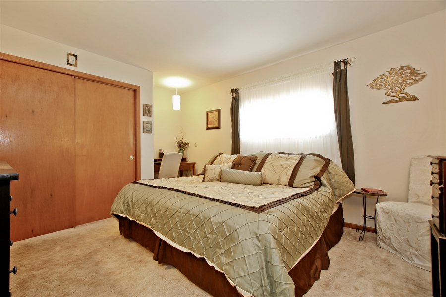Real Estate Photography - 4519 Cumnor Rd, Downers Grove, IL, 60515 - Master Bedroom