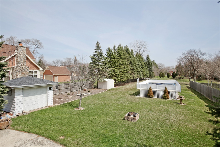 Real Estate Photography - 4519 Cumnor Rd, Downers Grove, IL, 60515 - Back Yard
