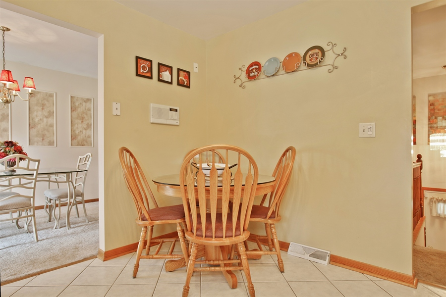 Real Estate Photography - 4519 Cumnor Rd, Downers Grove, IL, 60515 - Breakfast Area