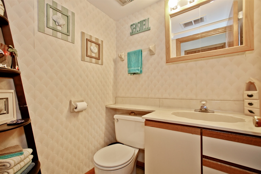 Real Estate Photography - 4519 Cumnor Rd, Downers Grove, IL, 60515 - Powder Room