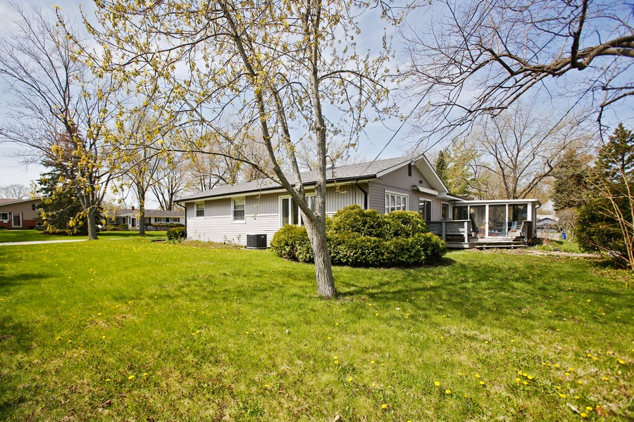 Real Estate Photography - 623 Ranch Rd, Wheaton, IL, 60187 - Rear View