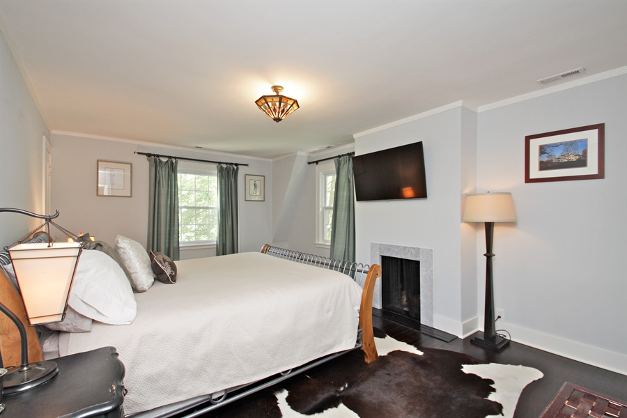 Real Estate Photography - 1302 Forest Ave, Highland Park, IL, 60035 - Master Bedroom