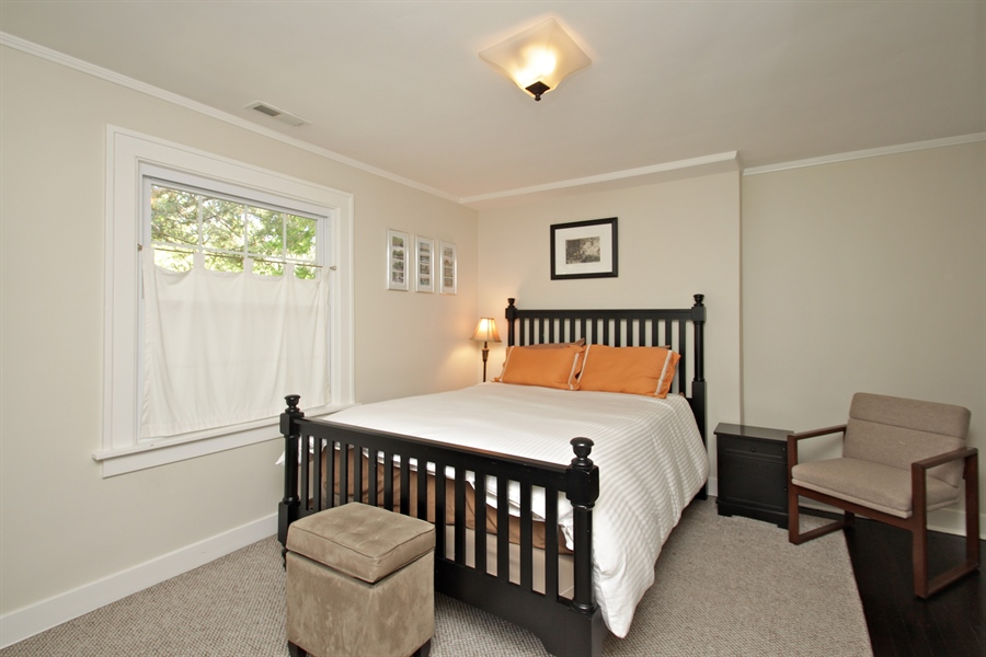 Real Estate Photography - 1302 Forest Ave, Highland Park, IL, 60035 - Bedroom