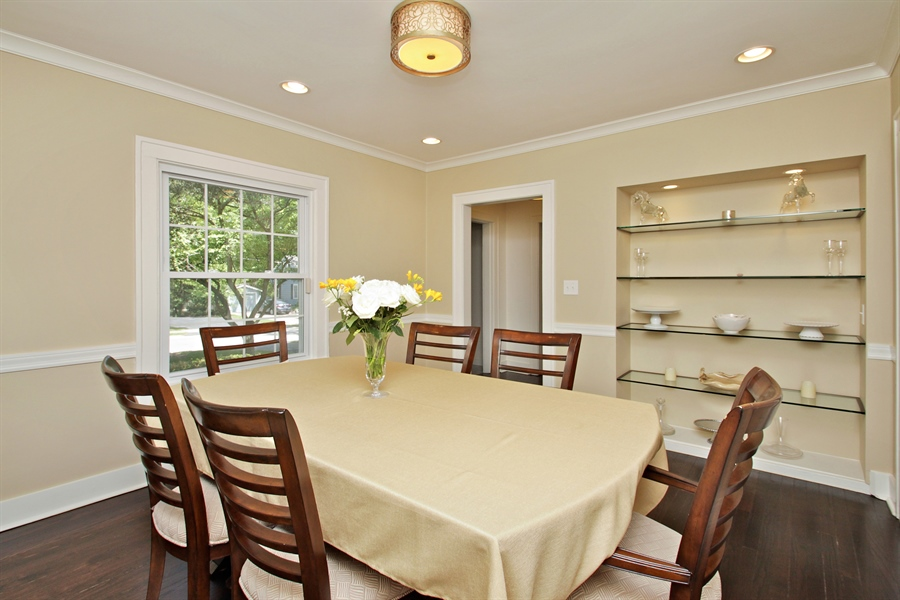 Real Estate Photography - 1302 Forest Ave, Highland Park, IL, 60035 - Dining Room