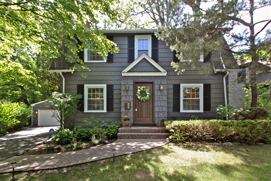 Real Estate Photography - 1302 Forest Ave, Highland Park, IL, 60035 - Front View