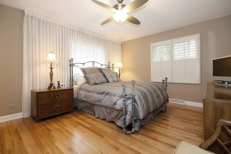 Real Estate Photography - 6123 Washington St, Downers Grove, IL, 60516 - Master Bedroom