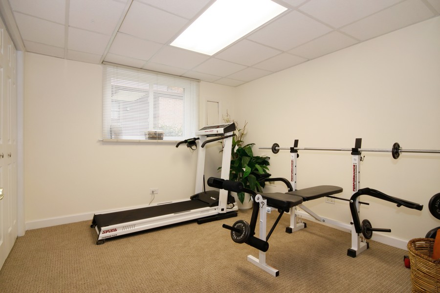 Real Estate Photography - 6123 Washington St, Downers Grove, IL, 60516 - Gym/5th Bedroom