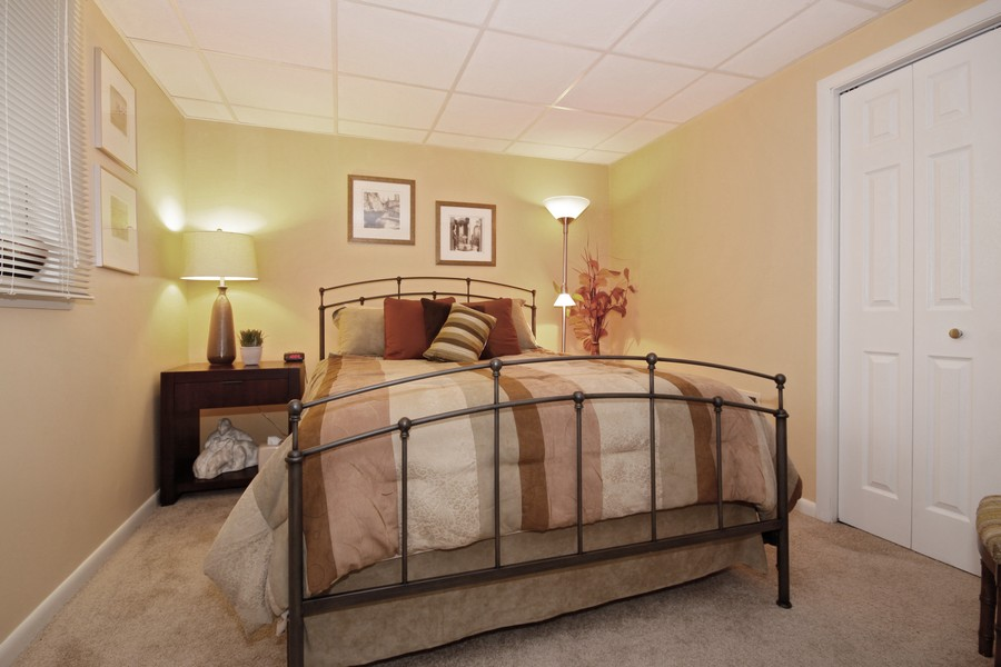 Real Estate Photography - 6123 Washington St, Downers Grove, IL, 60516 - 4th Bedroom