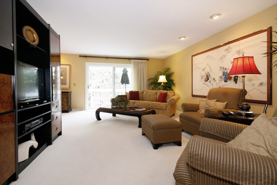 Real Estate Photography - 6123 Washington St, Downers Grove, IL, 60516 - Living Room