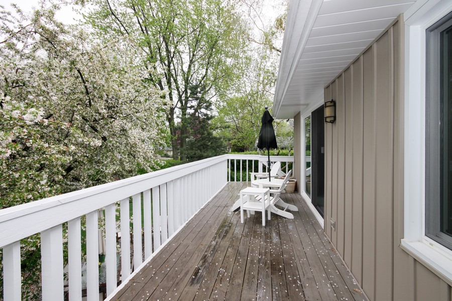 Real Estate Photography - 6123 Washington St, Downers Grove, IL, 60516 - Deck