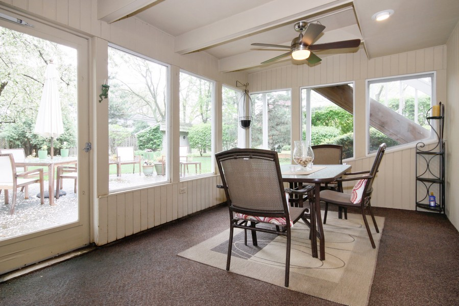 Real Estate Photography - 6123 Washington St, Downers Grove, IL, 60516 - 3 Season Enclosed Porch