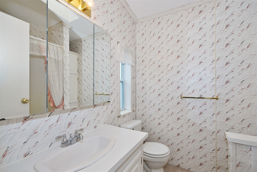 Real Estate Photography - 939 Daleann Ave, Dekalb, IL, 60115 - Master Bathroom
