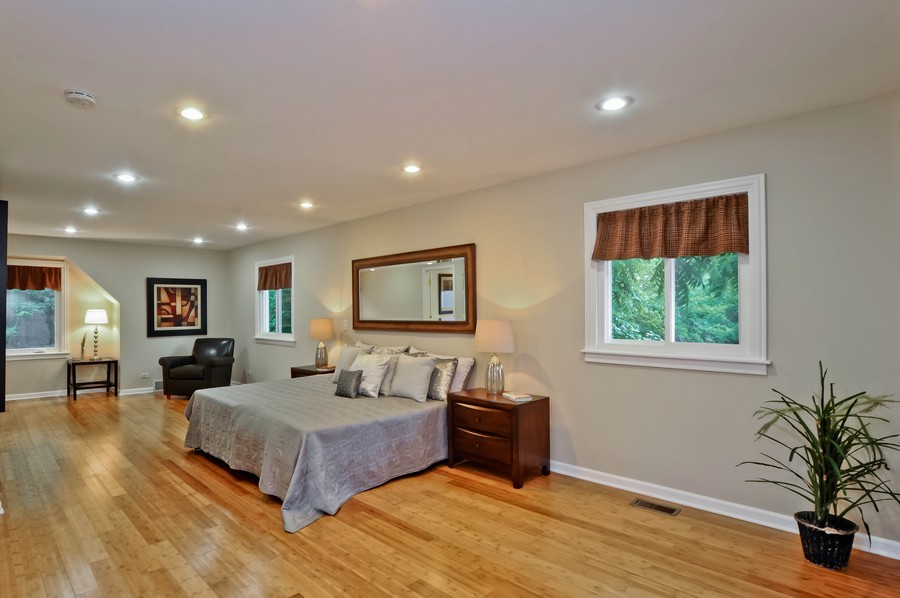 Real Estate Photography - 568 Chicago Ave, Highland Park, IL, 60035 - Master Bedroom