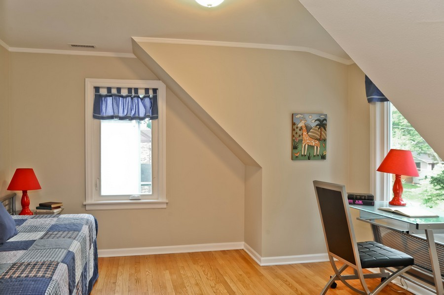 Real Estate Photography - 568 Chicago Ave, Highland Park, IL, 60035 - 2nd Bedroom