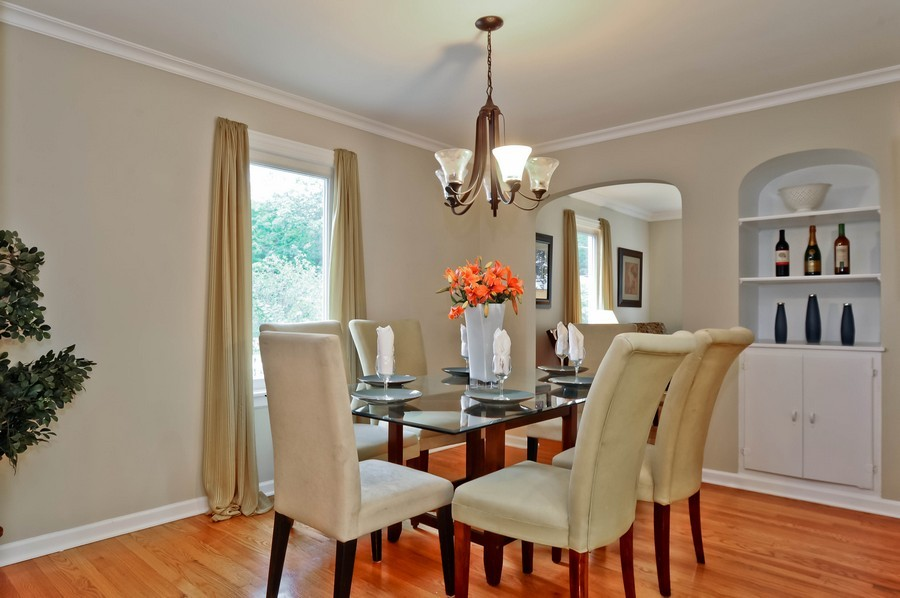 Real Estate Photography - 568 Chicago Ave, Highland Park, IL, 60035 - Dining Room