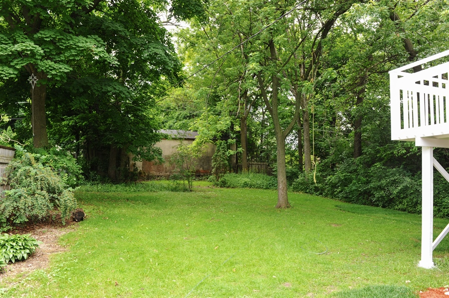 Real Estate Photography - 568 Chicago Ave, Highland Park, IL, 60035 - Back Yard