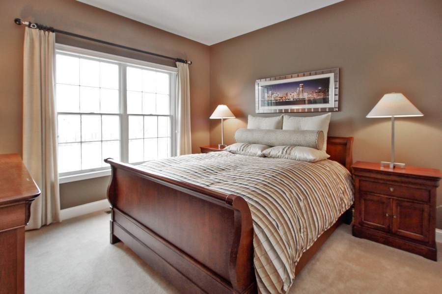 Real Estate Photography - 5331 Notting Hill Road, Gurnee, IL, 60031 - 3rd Bedroom