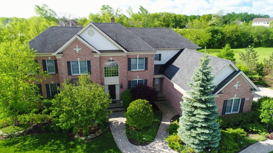 Real Estate Photography - 5331 Notting Hill Road, Gurnee, IL, 60031 - Aerial View