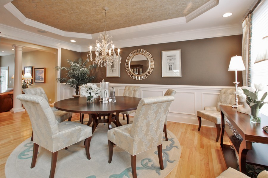 Real Estate Photography - 5331 Notting Hill Rd, Gurnee, IL, 60031 - Dining Room
