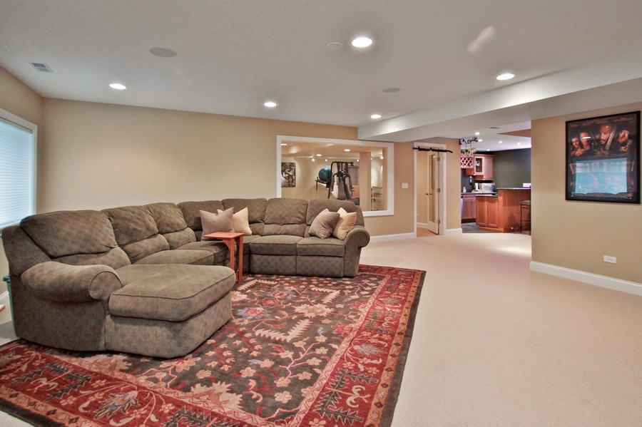 Real Estate Photography - 5331 Notting Hill Rd, Gurnee, IL, 60031 - Basement