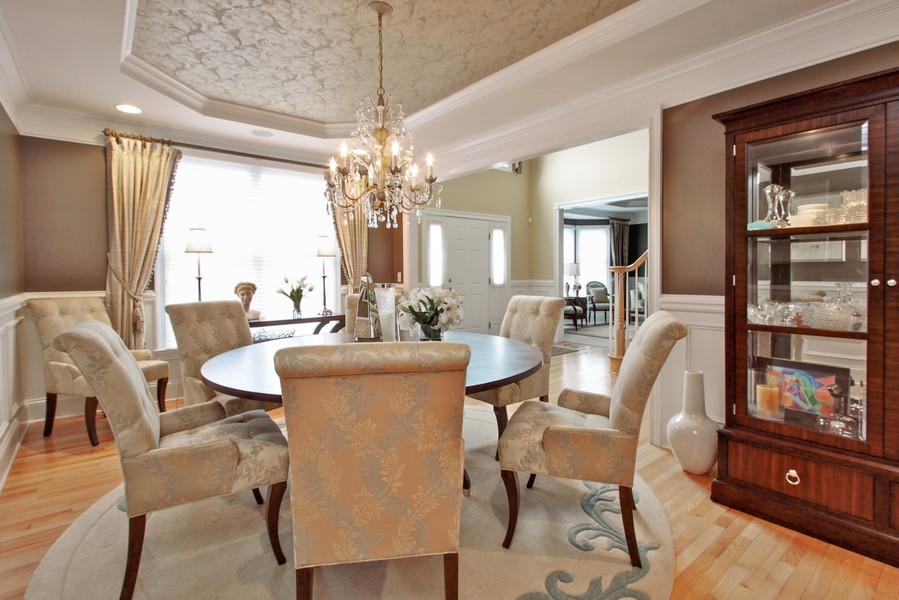 Real Estate Photography - 5331 Notting Hill Road, Gurnee, IL, 60031 - Dining Area