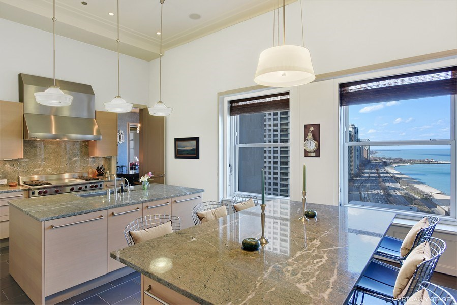 Real Estate Photography - 159 East Walton Place, #17AC, Chicago, IL, 60611 - Kitchen