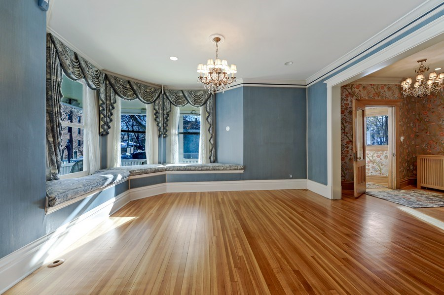 Real Estate Photography - 1904 West Patterson Ave, Chicago, IL, 60613 - Living Room