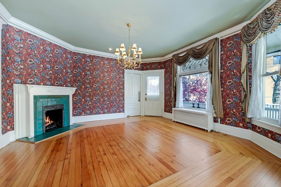 Real Estate Photography - 1904 West Patterson Ave, Chicago, IL, 60613 - Dining Room