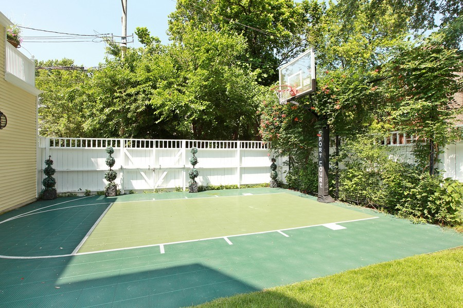 Real Estate Photography - 1904 West Patterson Ave, Chicago, IL, 60613 - Basketball Court