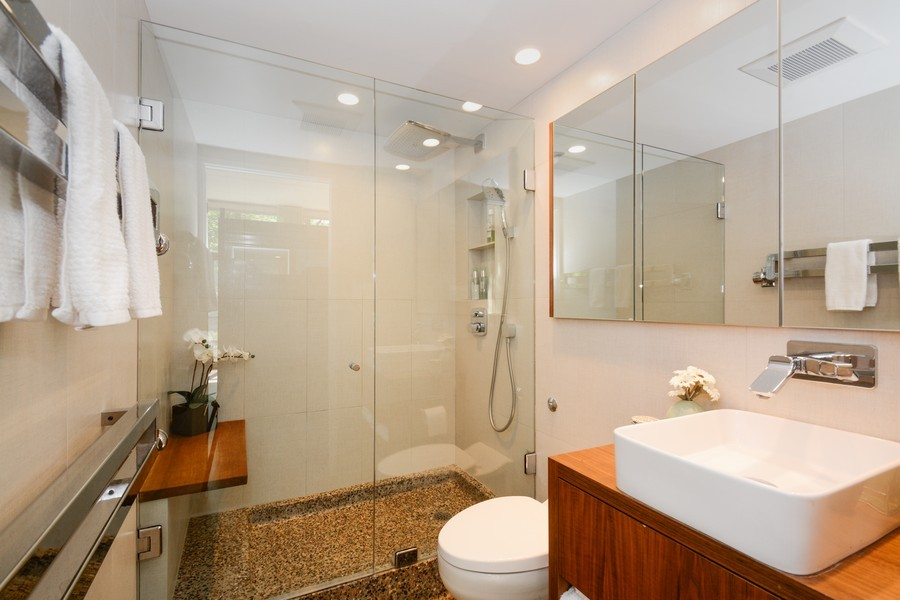 Real Estate Photography - 20841 Oak Ln, Olympia Fields, IL, 60461 - Master Bathroom
