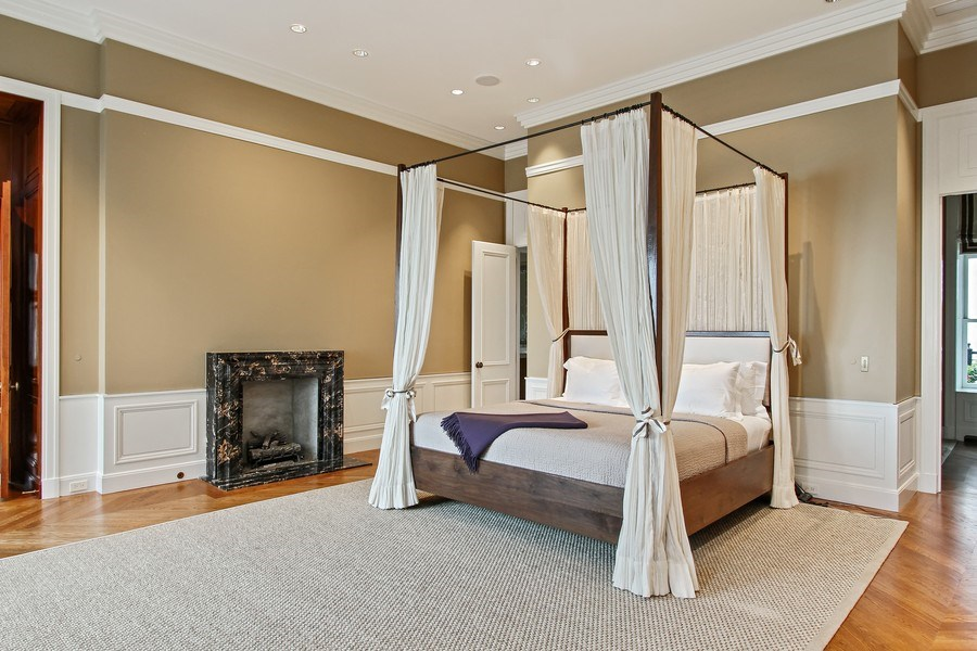 Real Estate Photography - 189 E Lake Shore Dr, Ste 18, Chicago, IL, 60611 - Master Bedroom