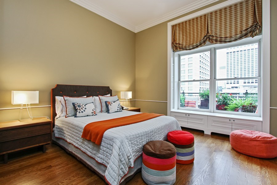 Real Estate Photography - 189 E Lake Shore Dr, Ste 18, Chicago, IL, 60611 - 3rd Bedroom