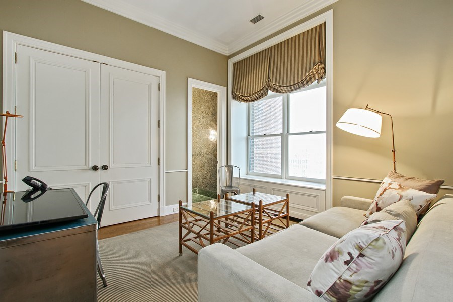 Real Estate Photography - 189 E Lake Shore Dr, Ste 18, Chicago, IL, 60611 - Bedroom