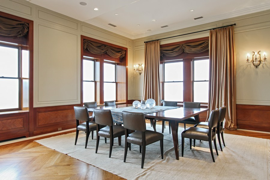 Real Estate Photography - 189 E Lake Shore Dr, Ste 18, Chicago, IL, 60611 - Dining Room
