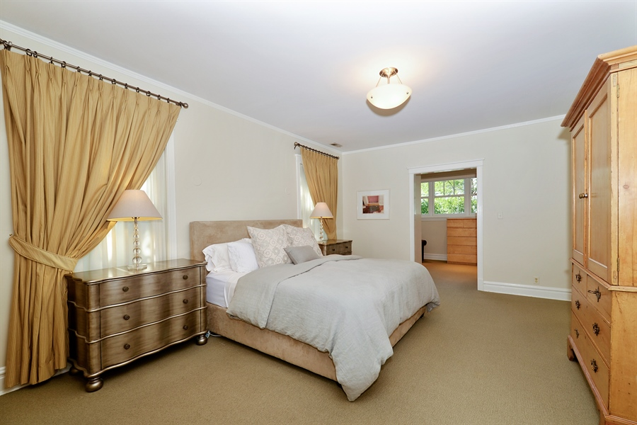 Real Estate Photography - 740 West Hutchinson St, Chicago, IL, 60613 - Master Bedroom