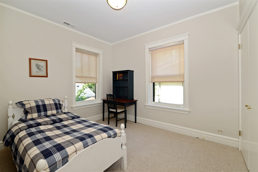 Real Estate Photography - 740 West Hutchinson St, Chicago, IL, 60613 - 4th Bedroom