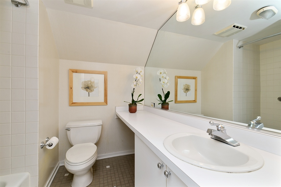 Real Estate Photography - 740 West Hutchinson St, Chicago, IL, 60613 - 3rd Bathroom