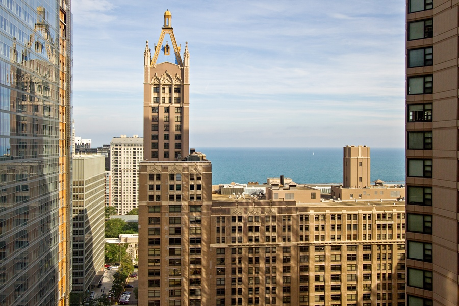 Real Estate Photography - 400 East Ohio St, 3002, Chicago, IL, 60611 - View