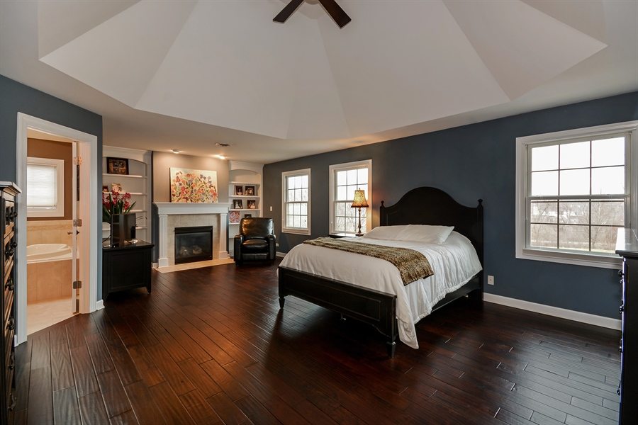 Real Estate Photography - 615 Papermill Hill Dr, Batavia, IL, 60510 - Master Bedroom