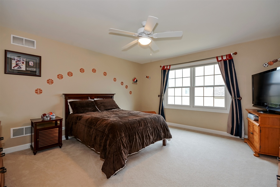 Real Estate Photography - 615 Papermill Hill Dr, Batavia, IL, 60510 - 4th Bedroom