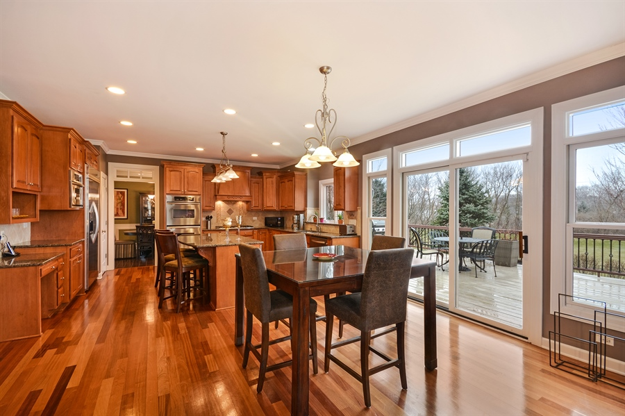 Real Estate Photography - 615 Papermill Hill Dr, Batavia, IL, 60510 - Kitchen / Breakfast Room