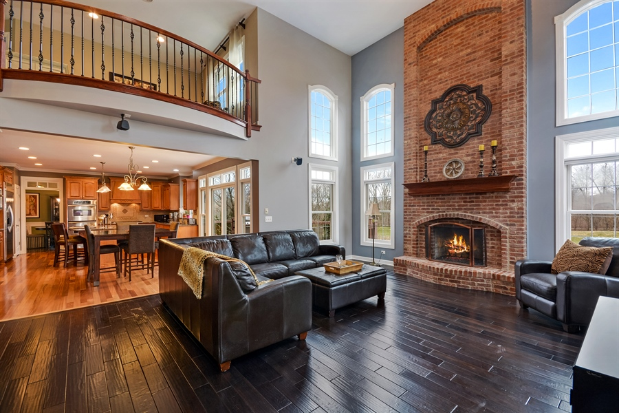 Real Estate Photography - 615 Papermill Hill Dr, Batavia, IL, 60510 - Family Room
