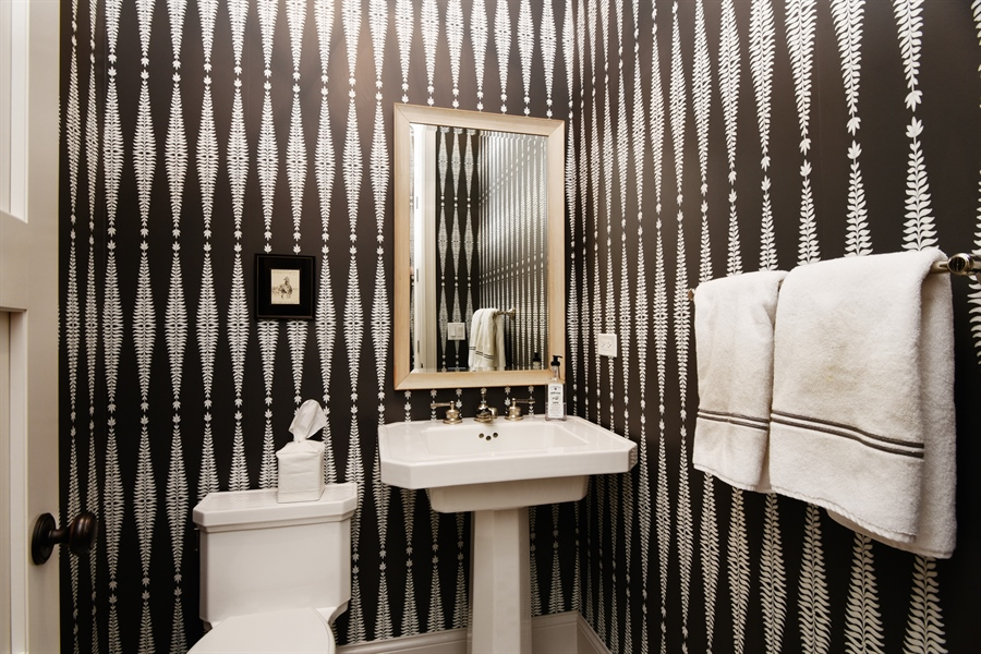 Real Estate Photography - 3453 N Seeley, Chicago, IL, 60618 - 3rd Bathroom