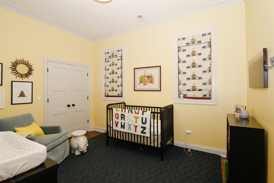 Real Estate Photography - 3453 N Seeley, Chicago, IL, 60618 - 3rd Bedroom