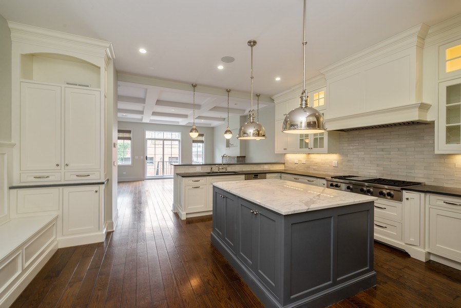 Real Estate Photography - 3453 N Seeley, Chicago, IL, 60618 - Kitchen