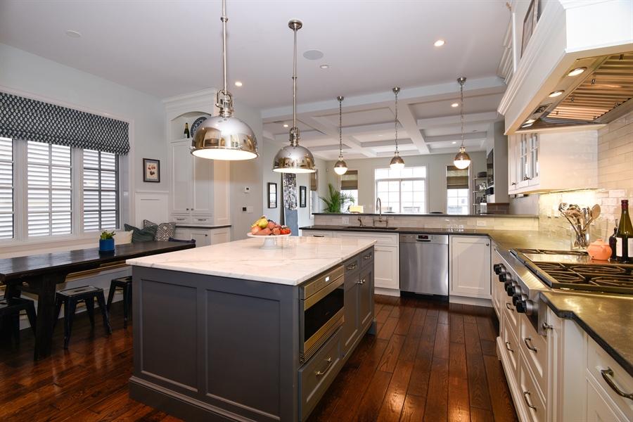 Real Estate Photography - 3453 N Seeley, Chicago, IL, 60618 - Kitchen / Breakfast Room