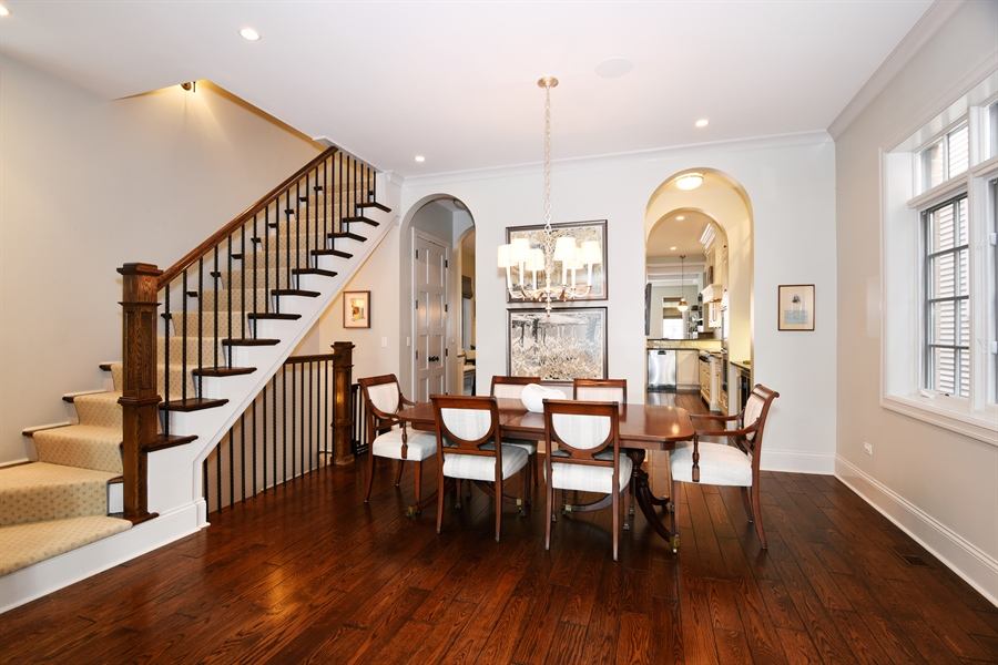 Real Estate Photography - 3453 N Seeley, Chicago, IL, 60618 - Dining Room